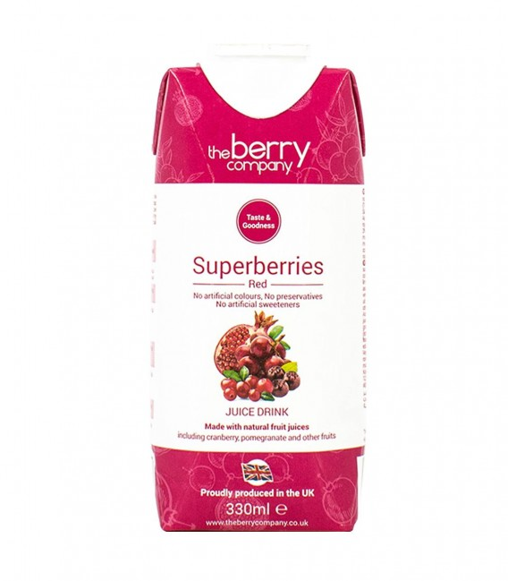 The Berry Company Superberry Red Juice (330mL)