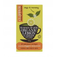 Clipper Tea Lemon & Ginger 25 Bags (62.5G)