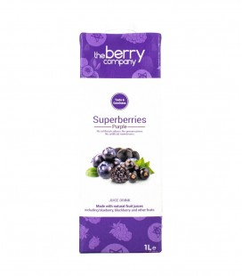 The Berry Company Superberries Purple Juice (1000mL)