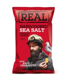 Real Handcooked Sea Salt Snacks (150G)