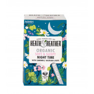 Heath & Heather Organic Soft & Sleepy Night Time Tea 20g (20bags)