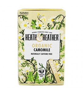 Heath & Heather Organic Camomile Tea 20g (20bags)